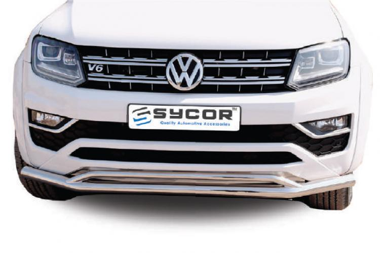 Amarok Sycor Styling Bar Stainless Steel