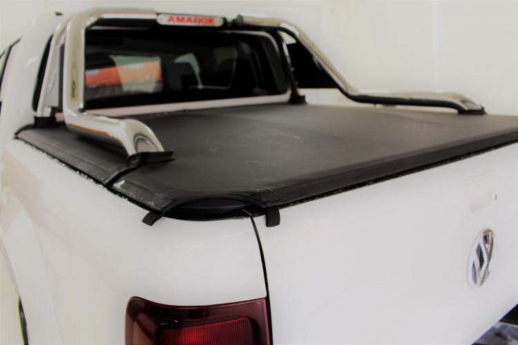 Tonneau Cover Tensioned